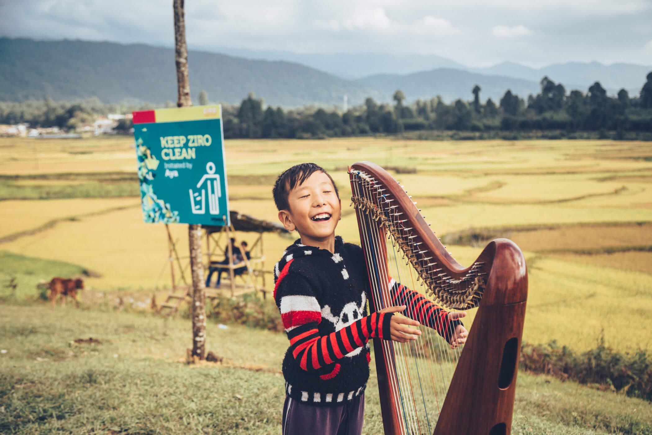 Ziro Harp Boy