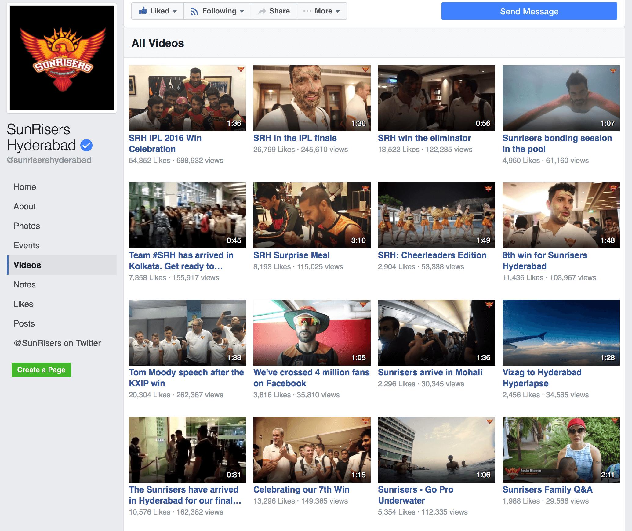 SRH videos