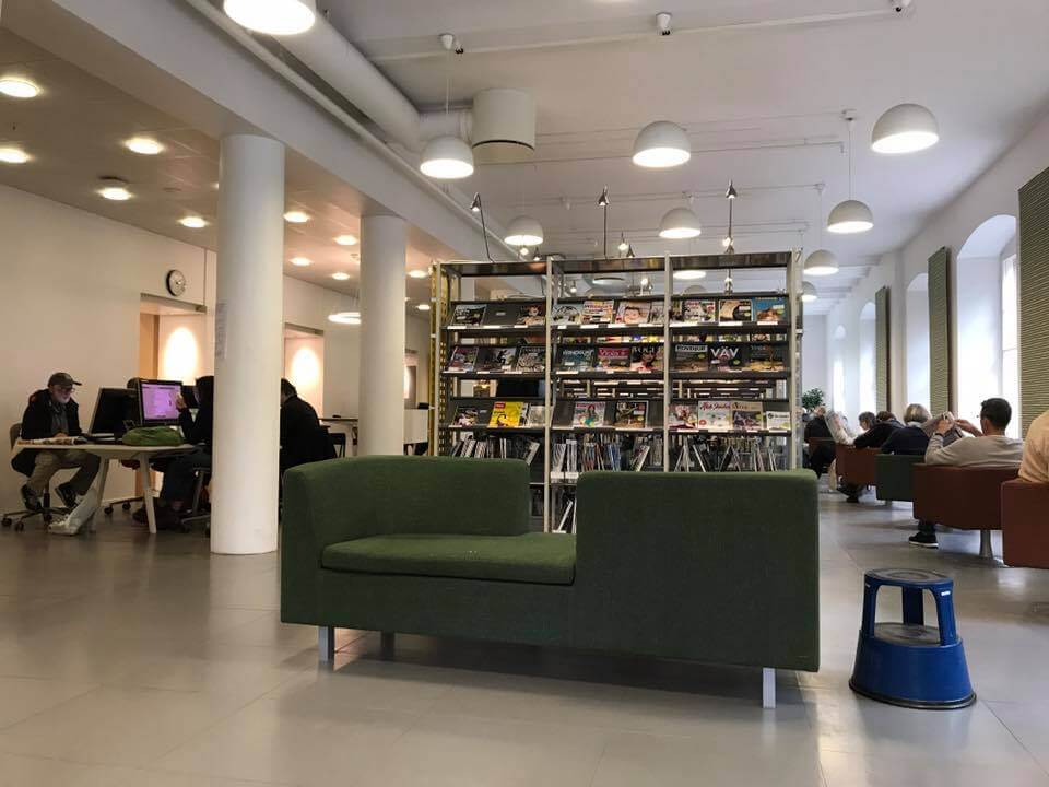 library section